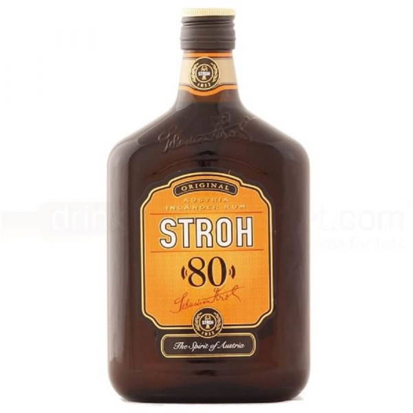 Picture of Stroh overproof Rum  80%,  Austria, 50cl