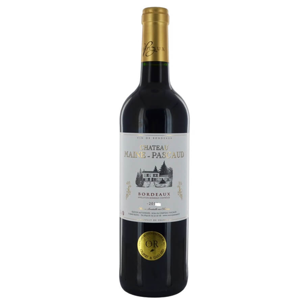 Picture of Chateau Maine Pascaud, 75cl