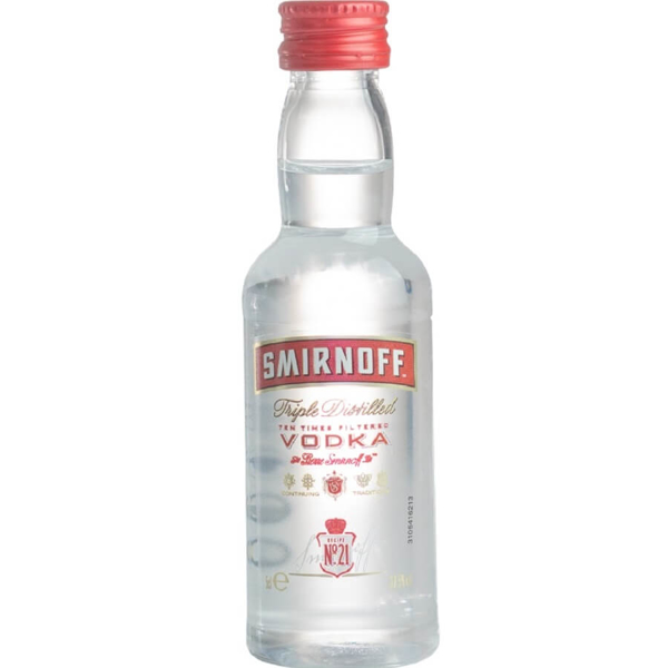 Picture of Smirnoff Red, 5cl
