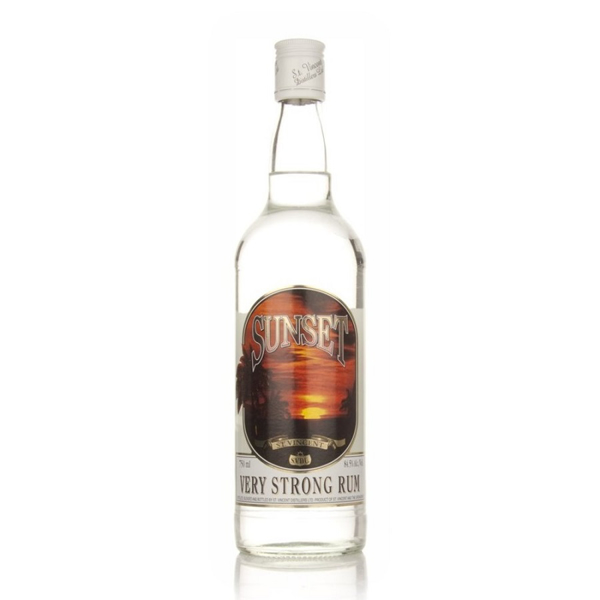 Picture of Sunset Very Strong Overproof White Rum 84.5 %, 70cl