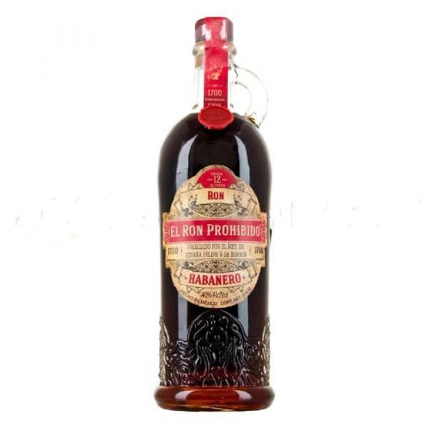 Picture of El Ron Prohibido Rum,  70 cl
